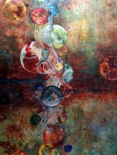 Linda Schuler's Art-Falling Through