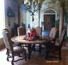 Dining Room Table Tuscan Decor interior design elements from tuscan, french country and spanish
