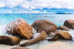 Anse Lazio, Beach, Praslin Island, Seychelles
