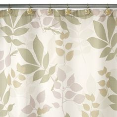 Shadow Leaves Shower Curtain