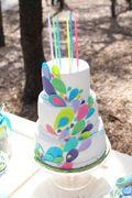 birthday ideas! -Proud as a Peacock Guest Dessert Feature on http://blog.amyatlas.com