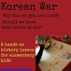 Korean War lesson plan for elementary kids - Adventures in Mommydom