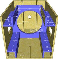 Skema Desain Box Speaker 12 inch Double Untuk Mid-Hi Audiophile Speakers, Diy Speakers, Built In Speakers, Custom Speaker Boxes, Speaker Box Design, Diy Subwoofer, Subwoofer Box Design, Woofer Speaker, Speaker Plans