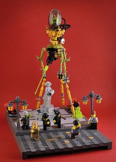 ~ Lego Mocs ~ Steampunk ~ War of the Worlds by Captain Smog #lego #steampunk