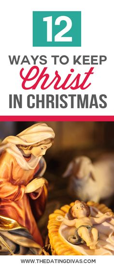 TONS of resources to help you keep CHRIST in Christmas!  Including Christ-Centered Christmas: Music, Decor, Books, Movies, Advents, Crafts, Coloring Pages, Treats, Gifts, Traditions, and MORE!  TheDatingDivas.com