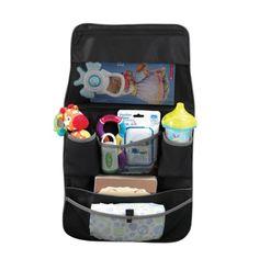 Un bel organisateur de voiture pour vous aider à tout ranger dans la voiture et permettre à l'enfant d'avoir ses affaires à portée de main.