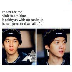 Baekhyun is true beauty