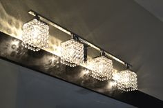 Bathroom light fixture (they said from Overstock.com)