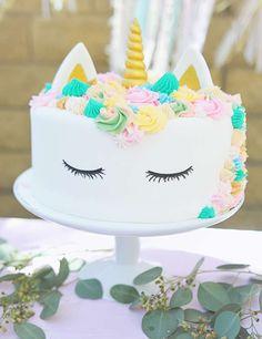 Bohemian Unicorn 1st Birthday | CatchMyParty.com
