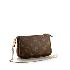 LOUIS VUITTON Official USA Website - Discover the Mini Louis Vuitton  Pochette from our latest collection of women s accessories. 8340ba7083b