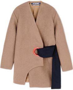 Jacquemus Coat in Beige