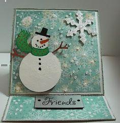 Snowman (gift tag?)