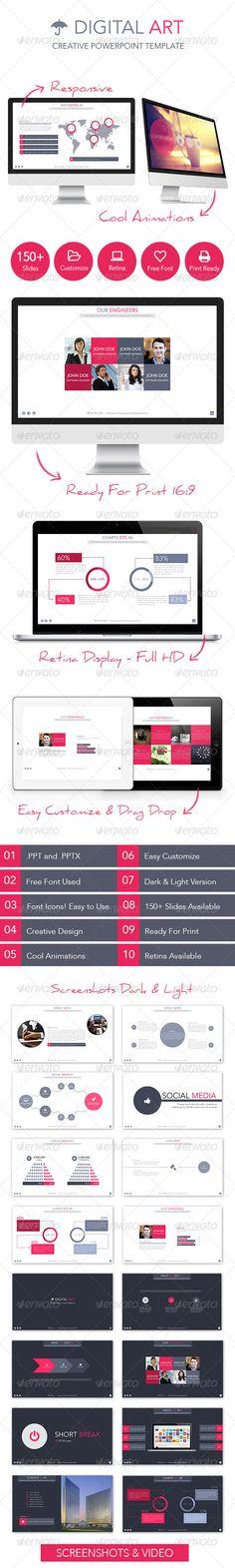 Digital Art - Creative Powerpoint Template