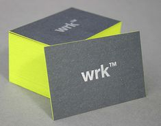 pop o color - business cards