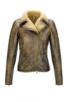 KATE BLOUSON - Sheepskin jacket with perfect wearability - Matchless
