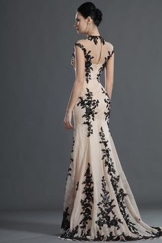 I found 'Black Lace Evening Dress' on Wish, check it out!