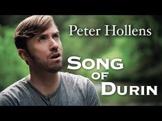 We thought they were over, but a cappella singer Peter Hollens found another Middle-earth themed song to sing to his fans! This time it isn't from Peter Jackson's movies, but it's a cover of Eurielle's 'Song of Durin', who put on music s The Hobbit Song, Lotr, Peter Hollens, Celtic Music, Songs To Sing, Kinds Of Music, Good Music, Music Mix, Middle Earth