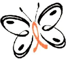 My Dad has Leukemia. I think this would make a perfect support tattoo! Leukemia Tattoo, Breast Cancer Tattoos, Cancer Ribbon Tattoos, Cancer Ribbons, Awareness Tattoo, Leukemia Awareness, Breast Cancer Awareness, Epilepsy, Butterflies
