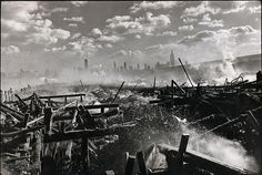 The Hudson and Manhattan, New York, by Henri Cartier-Bresson 1946