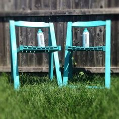 Aloha! From drab-to-fab in less than 30 minutes ---> #PlutoniumPaint #SprayPaint #UltraSupreme #EcoFriendly #FastDry #Spray360 #ChairMakeover #Upcycle #DIY #DIYProjects #Crafty #ArtsCrafts #Aloha #OutdoorDecor