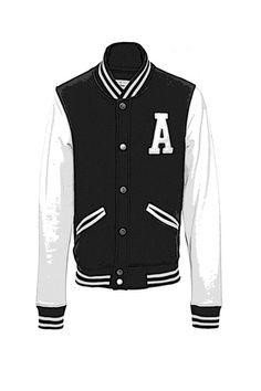 Varsity Jacket Un día de 1865, el equipo de béisbol de Harvard decidió crear su propio uniforme y coser grandes 'H' en el centro de sus tradicionales jerseys de punto grueso. Y así surgió esta chaqueta de reminiscencias college.