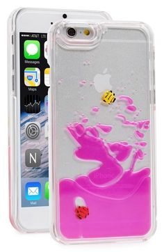SKINNY+DIP+Skinnydip+'Pink+Fish'+Liquid+iPhone+6+Case+available+at+#Nordstrom