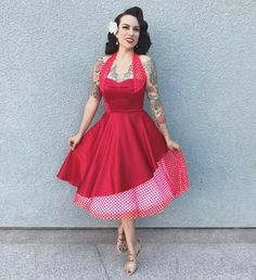 Wearing my with extra fierce hair by Diy Projects To Try, Pin Up Girls, Dressmaking, Vintage Dresses, Knit Crochet, Sewing Patterns, Retro, My Style, How To Wear
