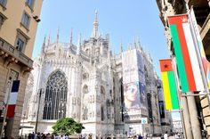 Il Duomo di Milano, luglio 2015.