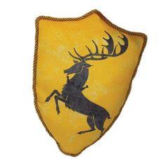 Factory Entertainment Game of Thrones - House Baratheon Sigil Throw Pillow