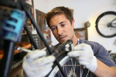 Learn how to tune up your bike to save time and money.