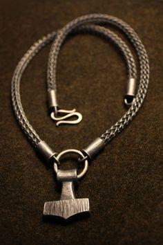 Thor's Hammer Necklace  by ~Waldgeist86