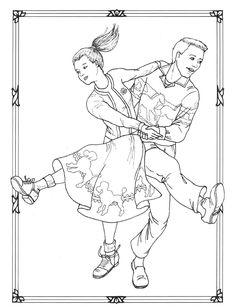 #ClippedOnIssuu from Dancers coloring book costumes for coloring