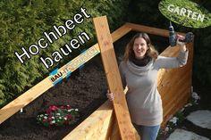 Hochbeet selber bauen - Garten anlegen - DIY Holz Hochbeet - Anleitung v...