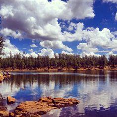 In arizona knoll lake and woods canyon lake up on the mogollon rim woods canyon lake payson arizona camping fishing kayakingnature hiking publicscrutiny Images
