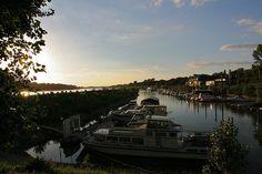 Yachthafen Theodor Heuss Brücke