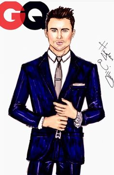 GQ collection by Hayden Williams: Channing Tatum Hayden Williams, Fashion Illustration Sketches, Fashion Sketches, Mens Illustration, Couple Illustration, Fashion Art, Mens Fashion, Fashion Design, Fashion Cover