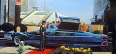 Syd Mead And The Playboy Land Yacht