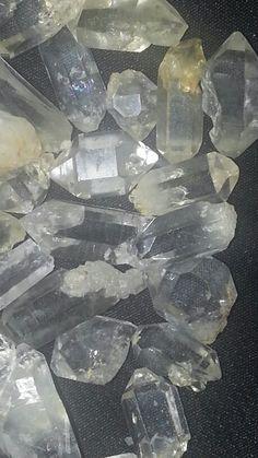 Selection of my Herkimer Diamonds very beautiful