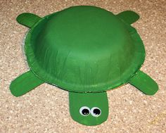 easy turtle art project - construction paper goggly eyes Dixie cardboard bowl & Paper Plate Sea Turtle FREE Template | Ocean | Pinterest | Turtle ...