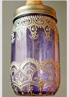 ?? DIY: Mason Jars Turned Into Moroccan Lanterns ?? (mason jars souvenir)