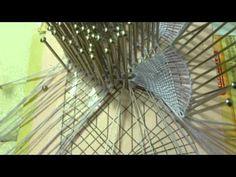 ▶ Ondas en abanico.Encaje de bolillos - YouTube