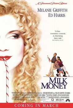 Directed by Richard Benjamin.  With Melanie Griffith, Ed Harris, Michael Patrick Carter, Malcolm McDowell. Young Frank and his pals get an idea for the ultimate in excitement. They decide to pool their savings, bicycle to the nearby Big City, and hire some woman of the streets to strip for them. Things do not work out that simply, but they do meet V, a Hooker With A Heart Of Gold, who ends up giving them a ride home. Soon she is living in Frank's treehouse, unbeknownst to Frank's wido...