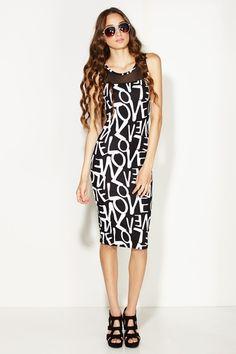 Declaration of LOVE Midi Dress only $19.99