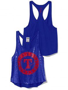 PINK Texas Rangers Bling Racerback Tank #VictoriasSecret http://www.victoriassecret.com/sale/pink/texas-rangers-bling-racerback-tank-pink?ProductID=106220=OLS?cm_mmc=pinterest-_-product-_-x-_-x