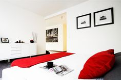 #onedesign #design #interior #architecture #red #bedroom