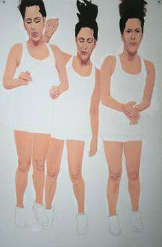 "Saatchi Art Artist Myriam Dib; Painting, ""Trampoline"" #art"
