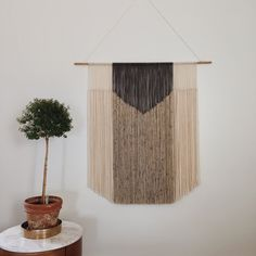 36in stick width 28in yarn width 37in yarn length A beautiful delicate statement piece for any room in your home.