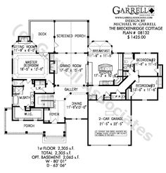 House Plans furthermore Modest Size Dream Home also One Story Floor Plans With Basements further 1500 Sq Ft Ranch House Plans With Bat further Houses Designs. on lake house plans with porches