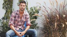 en esta imagen vemos al actor Mathias Novoa rodado de un jardin muy tranquilo mas conocido por su actuacion en la telenovela La Teniente