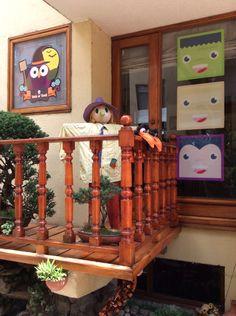 Decoracion Halloween - Figuras impresas en vinilo autoadhesivo
